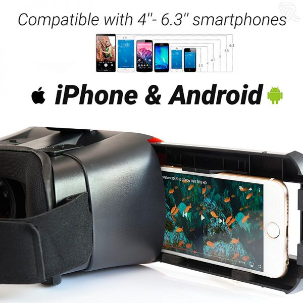 B-NEXT VR Headset Gafas de realidad virtual para Smartphones