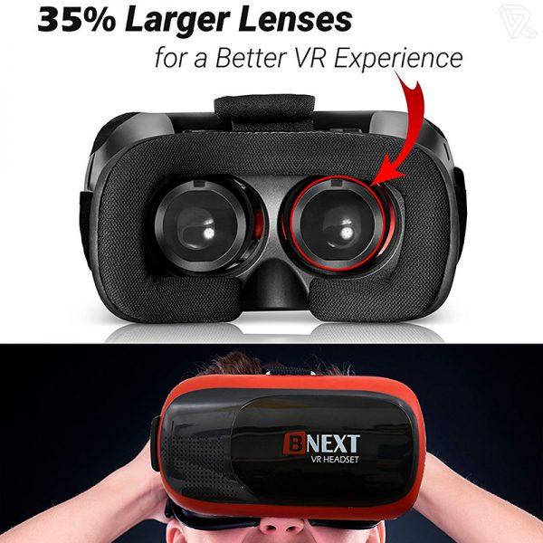 B-NEXT VR Headset Gafas de realidad virtual para movil
