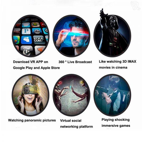 BlitzWolf BW-VR Gafas de Realidad Virtual para moviles