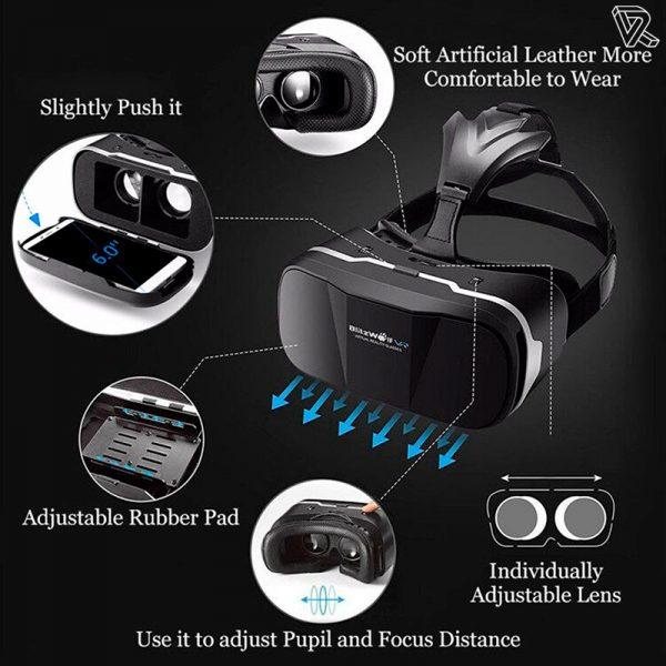 BlitzWolf BW-VR Gafas de Realidad Virtual para smartphones