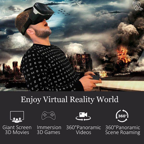 BlitzWolf BW-VR Gafas de Realidad Virtual smartphone