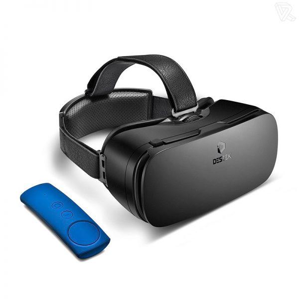 Destek V4 VR Daydream View 103 FOV HD Gafas de realidad virtual para Smartphone