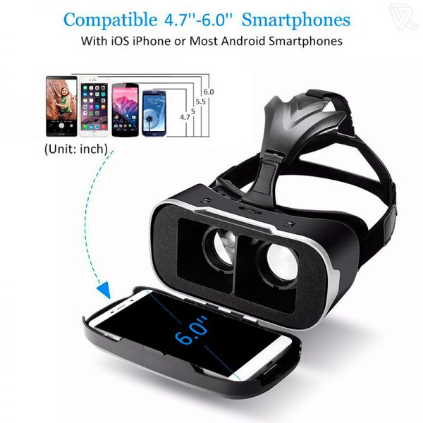 Gafas de Realidad Virtual BlitzWolf BW-VR para Smartphone