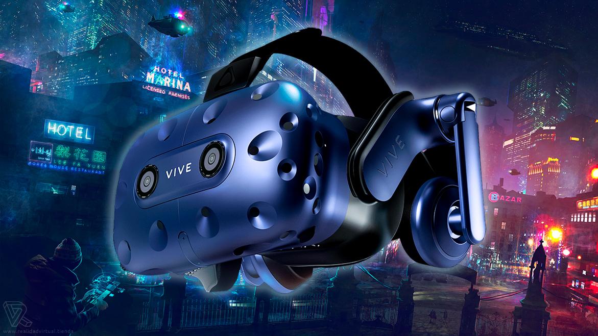Gafas de Realidad Virtual HTC Vive PRO Azules