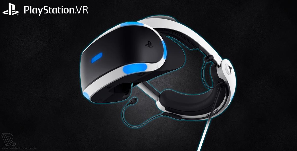 Gafas de Realidad Virtual PlayStation VR de Sony