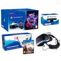 Gafas de Realidad Virtual Sony PlayStation VR Farpoint Pack Controlador VR Worlds CAmara VR