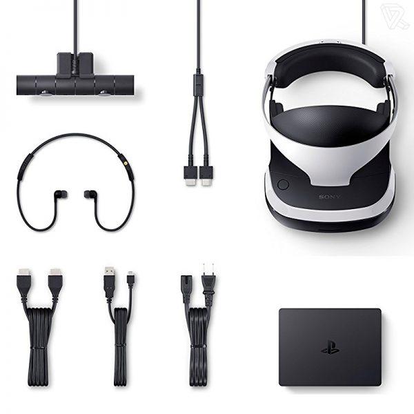 Gafas de Realidad Virtual Sony PlayStation VR Farpoint Pack Controlador VR Worlds Camara