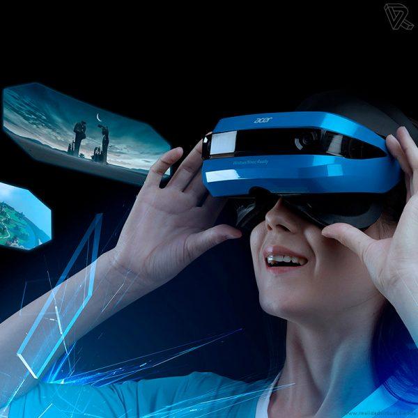 Gafas de Realidad mixta Acer para Windows