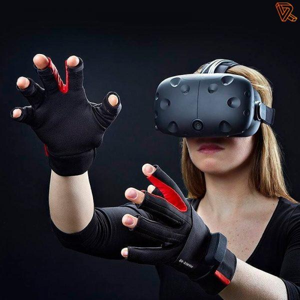 HTC Vive Gafas VR controlador guantes