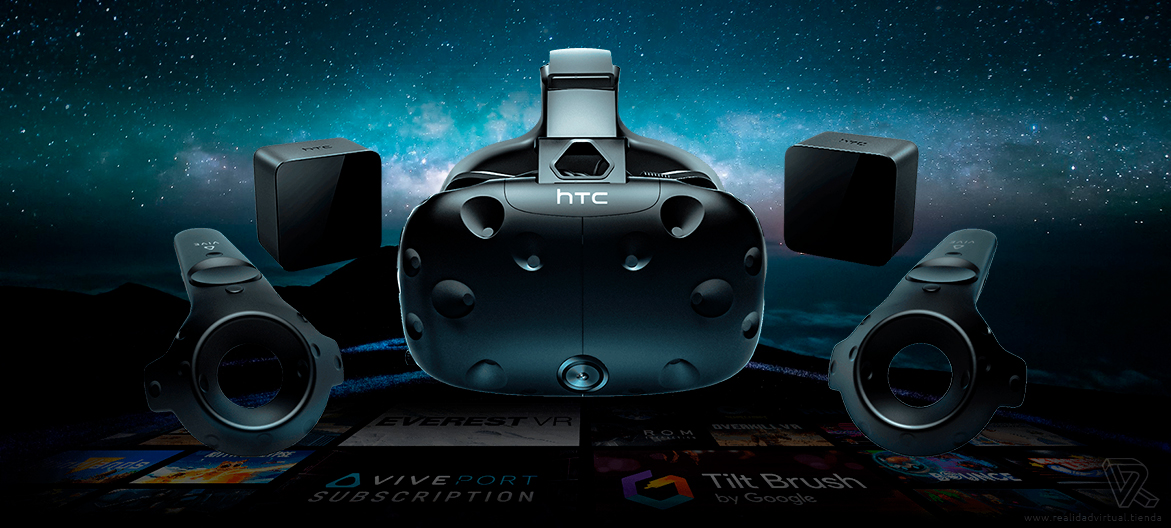 HTC Vive Gafas de Realidad Virtual aplicaciones