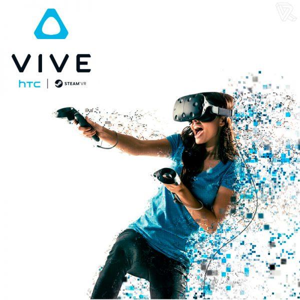 HTC Vive Gafas inmersion Realidad Virtual