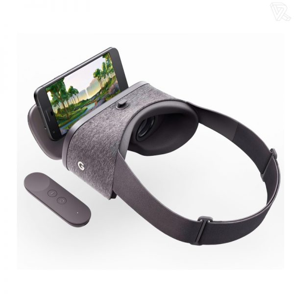 Headset Gafas de realidad virtual para Smartphone Google Daydream View VR
