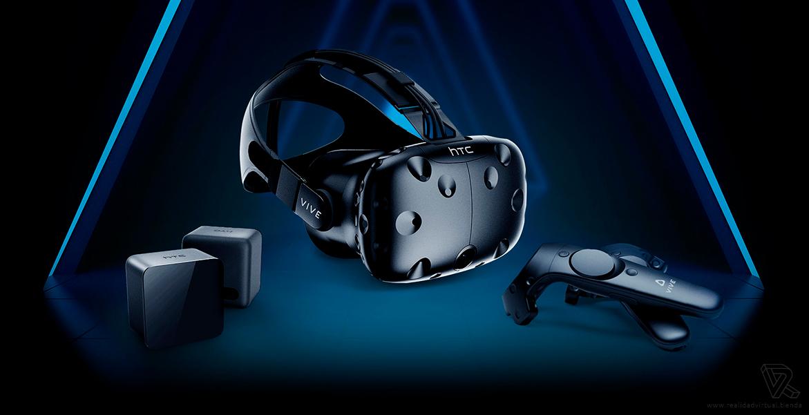Pack 2 Controladores Gafas HTC Vive