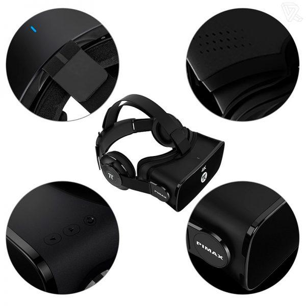 Pimax 4K VR Gafas de Realidad virtual para ordenador