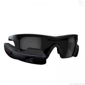 Recon Jet negras Gafas de realidad aumentada para ordenador