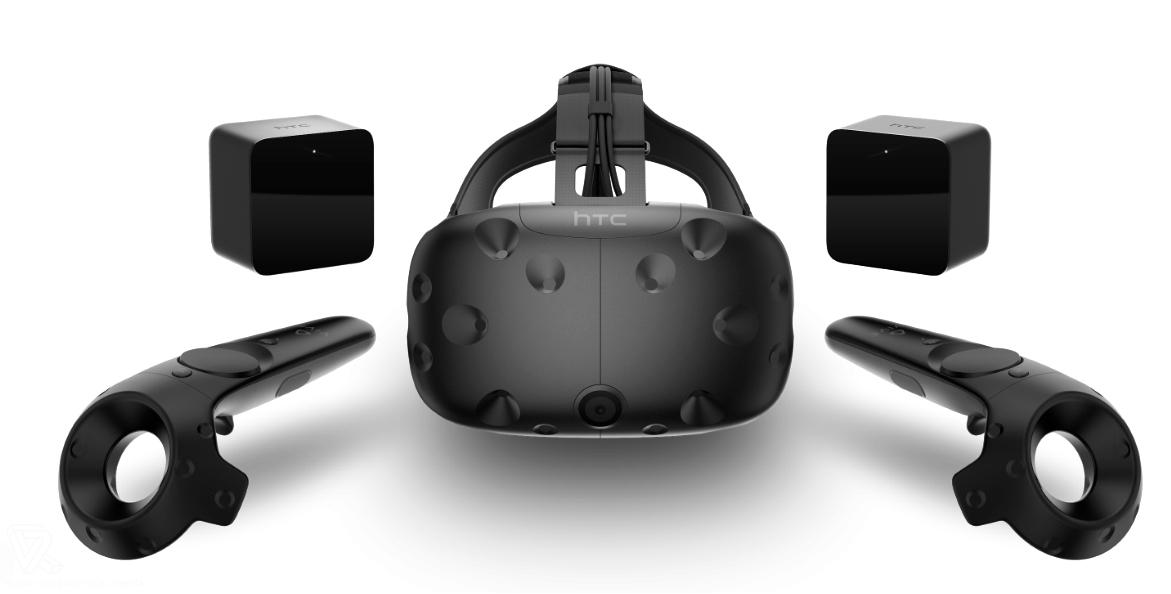 contenido del paquete HTC Vive Gafas de Realidad Virtual