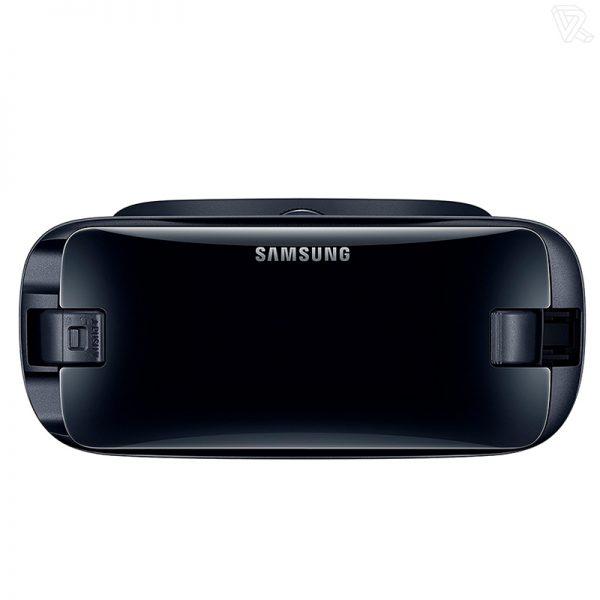 frontal Samsung Gear VR Gafas de realidad virtual negras