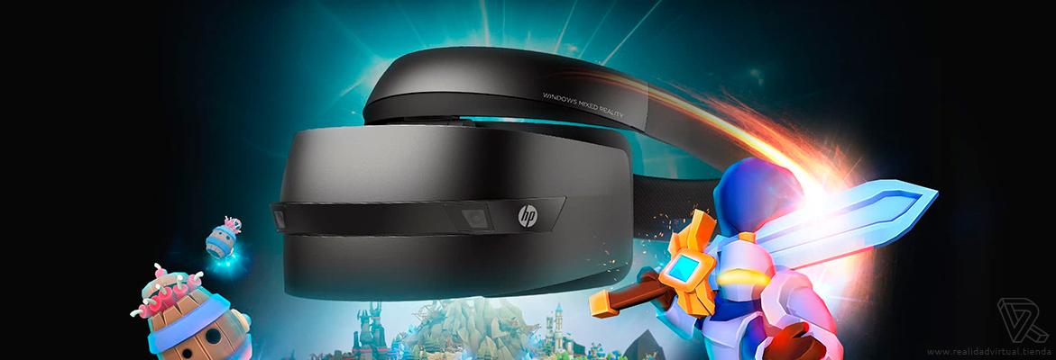 gaming Gafas de Realidad mixta HP VR1000-100 Windows Mixed Reality