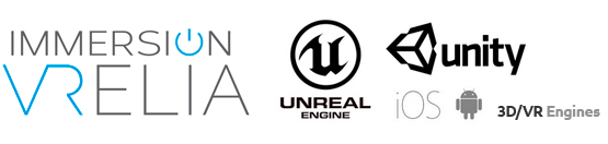 immersion vrelia vr logos