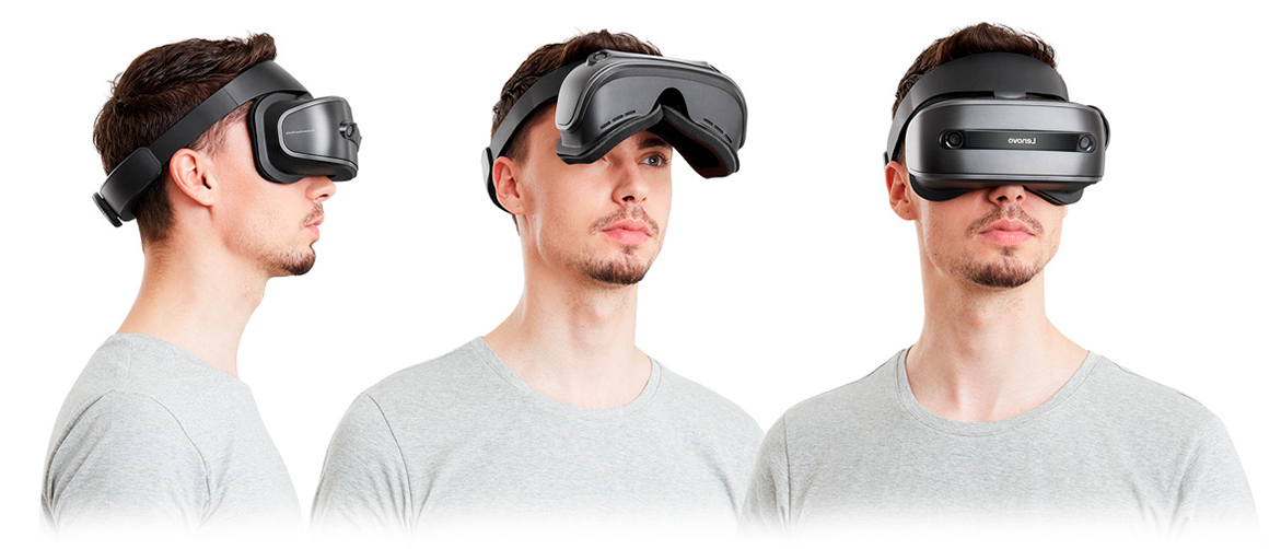 inmersion Gafas de Realidad Mixta Lenovo Explorer Windows Mixed Reality