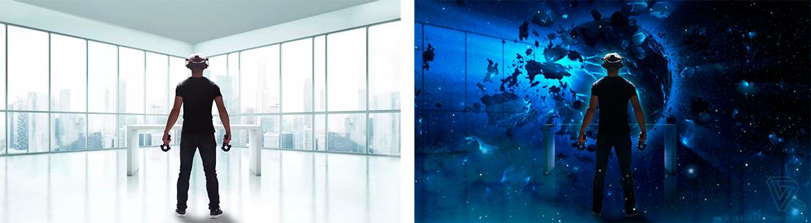 inmersion Gafas de Realidad Virtual HTC VIVE PRO