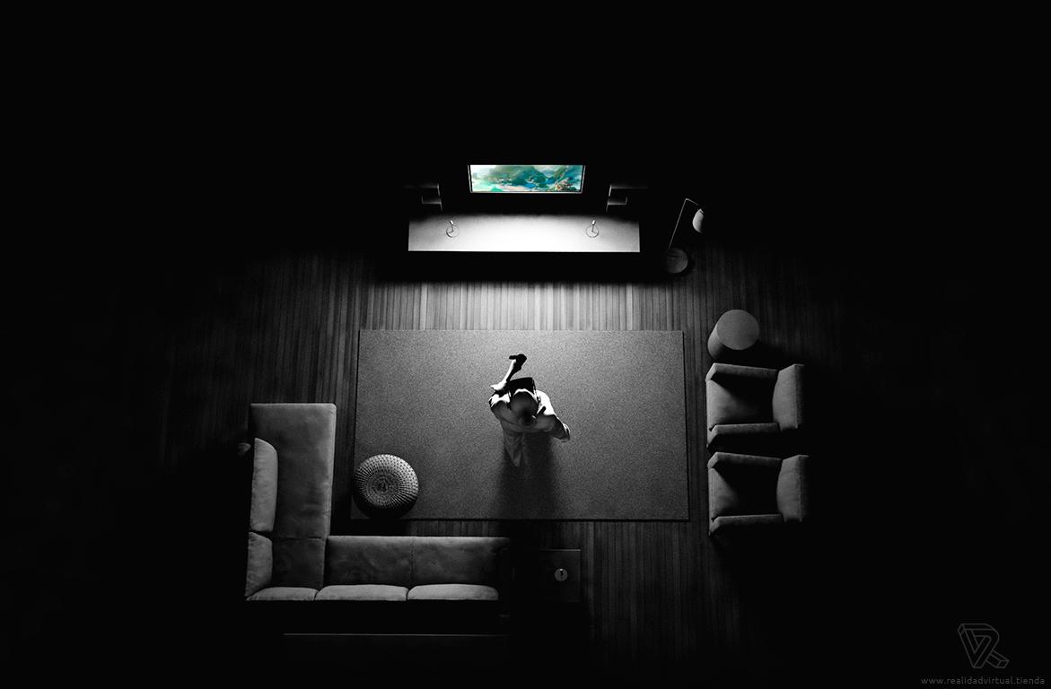 inmersion con las Gafas de Realidad Virtual Oculus Rift