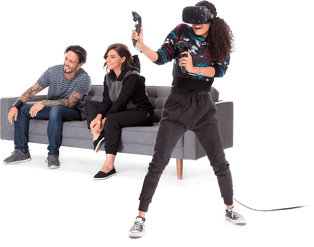 inmersion con las HTC Vive Gafas de Realidad Virtual Pack 2 Controladores