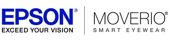logotipo de las Epson Moverio BT-300 Gafas de Realidad Aumentada