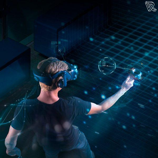 realidad virtual con las htc vive pro