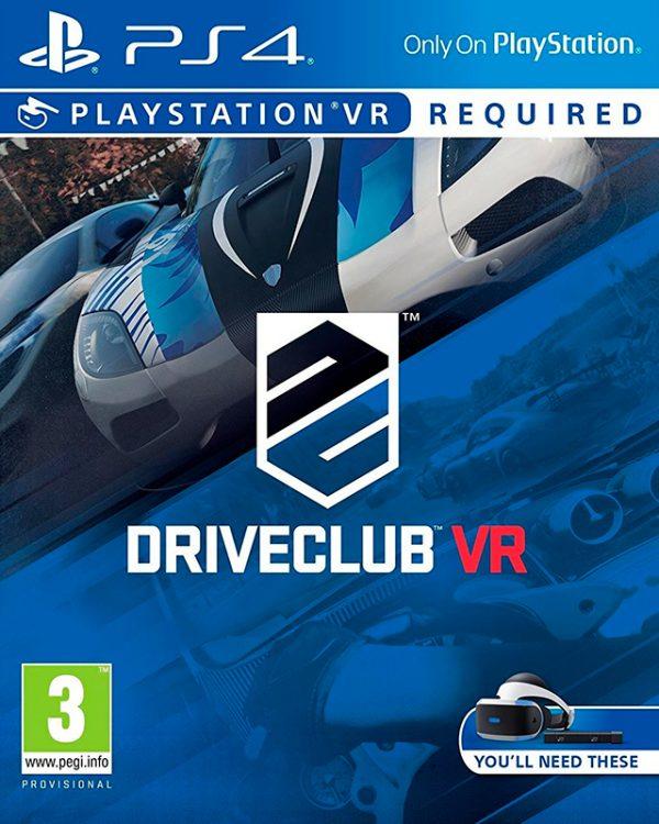 DriveClub VR para Playstation