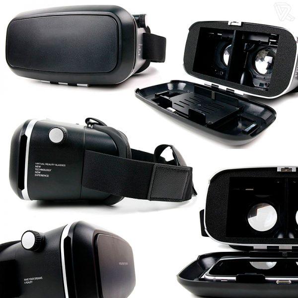 Gafas de Realidad Virtual VR ajustables para Smarphone NTNE-VR
