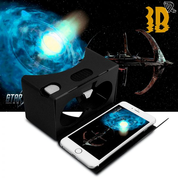 Gafas de realidad virtual de carton Cardboard