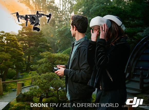 DJI Goggles Gafas para control de Drones Inmersión FPV