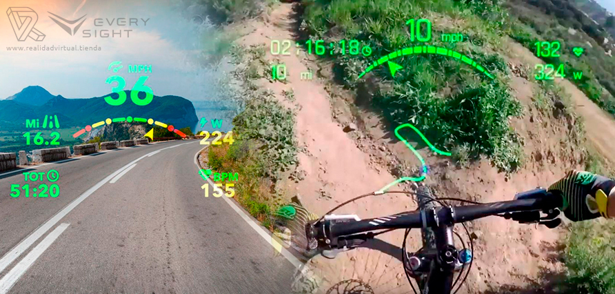 Everysight Raptor AR Gafas Realidad Aumentada para ciclistas