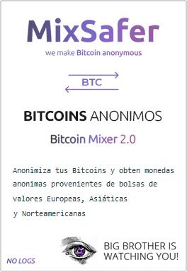 Mezclador de Bitcoins anónimo